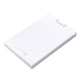 【ポイント2倍!】バッファロー SSD-PG240U3-WA 耐振動・耐衝撃 USB3.1(Gen1)対応 ポータブルSSD 240GB ホワイト