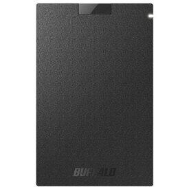 【ポイント10倍!2月20日(木)00:00〜23:59まで】バッファロー SSD-PG480U3-BA 耐振動・耐衝撃 USB3.1(Gen1)対応 ポータブルSSD 480GB ブラック