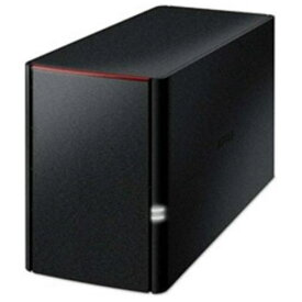 バッファロー LS220DN0202B スマホ/タブレット対応 ネットワークHDD 有線LAN/USB2.0・2TB LS220DNBシリーズ