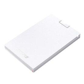 バッファロー SSD-PG120U3-WA 耐振動・耐衝撃 USB3.1(Gen1)対応 ポータブルSSD 128GB ホワイト