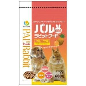 フィード・ワン株式会社 パルoneラビットフードフルーツ味 600g