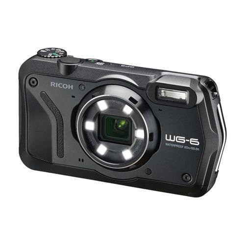 【ポイント10倍!5月25日(土)0:00〜5月28日(火)9:59まで】リコー WG-6 コンパクトデジタルカメラ ブラック