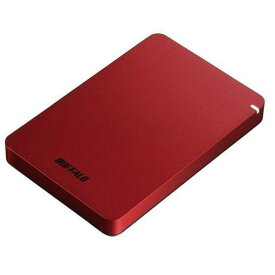バッファロー HD-PGF1.0U3-RDA ポータブルHDD レッド 1TB