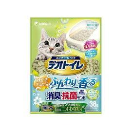 ユニ・チャーム デオトイレふんわり香る消臭・抗菌サンド 3.8L