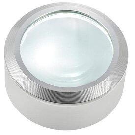 【ポイント10倍!】オーム電機 LH-M10DL-3W L-ZOOM LEDデスクルーペ3 ホワイト