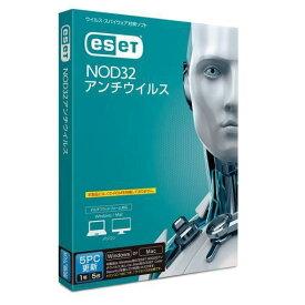 キヤノンITソリューションズ ESET NOD32アンチウイルス 5PC更新 CMJ-ND12-052