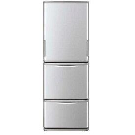 【無料長期保証】シャープ SJ-W351E-S 3ドア冷蔵庫(350L・どっちもドア) シルバー系