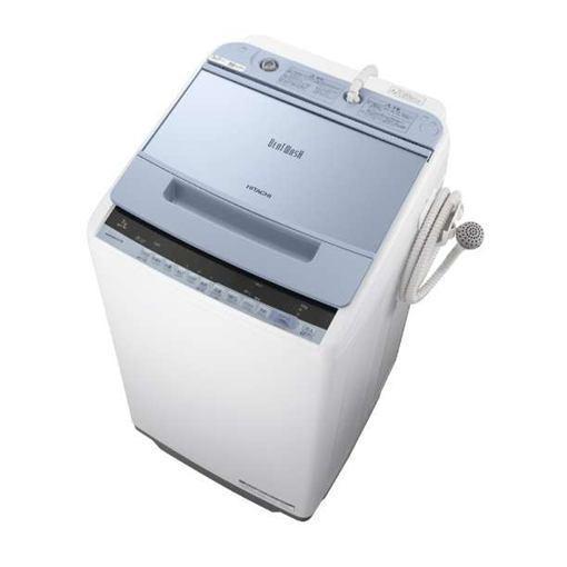 【ポイント10倍!5月25日(土)0:00〜5月28日(火)9:59まで】【無料長期保証】日立 BW-V70C-A ビートウォッシュ 全自動洗濯機 (洗濯7.0kg) ブルー