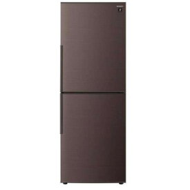 【ポイント10倍!】【無料長期保証】シャープ SJ-PD28E-T 2ドア冷蔵庫 (280L・右開き) ブラウン系