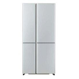 【無料長期保証】AQUA AQR-TZ51H-S 4ドア冷蔵庫 (512L・フレンチドア) サテンシルバー