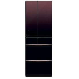 【無料長期保証】三菱 MR-MX46E-ZT 6ドア冷蔵庫(455L・フレンチドア) MXシリーズ グラデーションブラウン