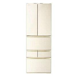 東芝 GR-R510FZ(ZC) VEGETA(ベジータ) 6ドア冷蔵庫(508L・フレンチドア) ラピスアイボリー