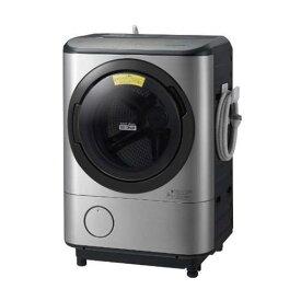 【無料長期保証】日立 BD-NX120CL-S ドラム式洗濯乾燥機 (洗濯12kg・左開き) ステンレスシルバー