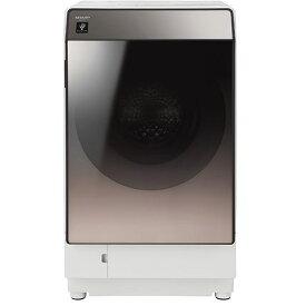 【無料長期保証】シャープ ES-U111-TR ドラム式洗濯乾燥機 洗濯11.0kg/乾燥6.0kg ブラウン系 右開き