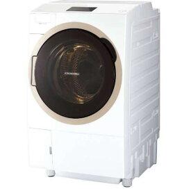 【ポイント10倍!6月18日(火)9:59まで】東芝 TW-127X7R(W) ドラム式洗濯乾燥機 「ZABOON」 (洗濯12.0kg /乾燥7.0kg・右開き) グランホワイト