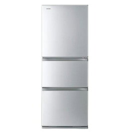 東芝 GR-R33S VEGETA 3ドア冷蔵庫 (330L・右開き) シルバー
