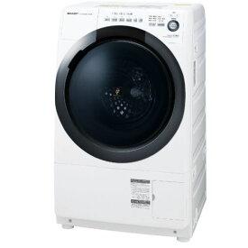 【ポイント10倍!6月18日(火)9:59まで】【無料長期保証】シャープ ES-S7D-WR ドラム式洗濯乾燥機 (洗濯7.0kg/乾燥3.5kg・右開き) ホワイト系