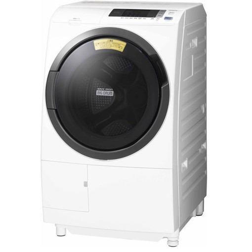 【ポイント10倍!5月25日(土)0:00〜5月28日(火)9:59まで】【無料長期保証】日立 BD-SG100CL ドラム式洗濯乾燥機 (洗濯10.0kg /乾燥6.0kg ・左開き) ホワイト