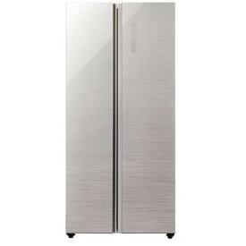 【無料長期保証】AQUA AQR-SBS45H(S) 2ドア冷蔵庫 「PANORAMA OPEN(パノラマオープン)」(449L・両開き) ヘアラインシルバー