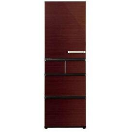 AQUA AQR-SV42HL(T) 5ドア冷蔵庫(415L・左開き) グロスブラウン