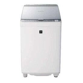 【無料長期保証】シャープ ES-PX8C-S 縦型洗濯乾燥機 (洗濯8.0kg/乾燥4.5kg) シルバー