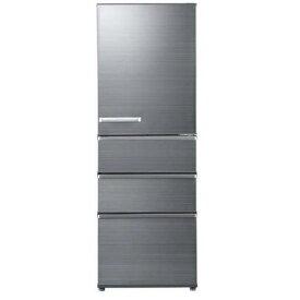 【無料長期保証】AQUA AQR-SV36H-S 4ドア冷蔵庫 (355L・右開き) チタニウムシルバー