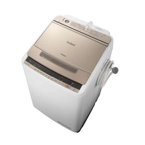 【ポイント10倍!5月25日(土)0:00〜5月28日(火)9:59まで】【無料長期保証】日立 BW-V90C-N ビートウォッシュ 全自動洗濯機 (洗濯9.0kg) シャンパン
