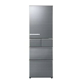 【無料長期保証】AQUA AQR-SV42H(S) 5ドア冷蔵庫(415L・右開き) チタニウムシルバー