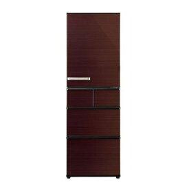【無料長期保証】AQUA AQR-SV42H(T) 5ドア冷蔵庫(415L・右開き) グロスブラウン