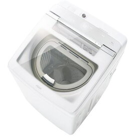 【ポイント10倍!6月18日(火)9:59まで】【無料長期保証】AQUA AQW-GTW100G-W 縦型洗濯乾燥機 (洗濯10.0kg /乾燥5.0kg) ホワイト