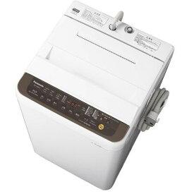 【ポイント10倍!6月18日(火)9:59まで】パナソニック NA-F70PB12-T 全自動洗濯機 7kg バスポンプ内蔵 ブラウン