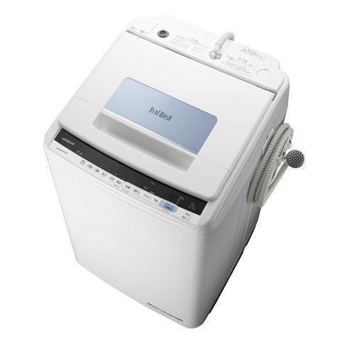 【ポイント10倍!5月25日(土)0:00〜5月28日(火)9:59まで】【無料長期保証】日立 BW-T805 全自動洗濯機 ビートウォッシュ (洗濯8.0kg)