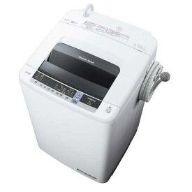 【無料長期保証】日立 NW-80C 全自動洗濯機 (洗濯8.0kg) ピュアホワイト