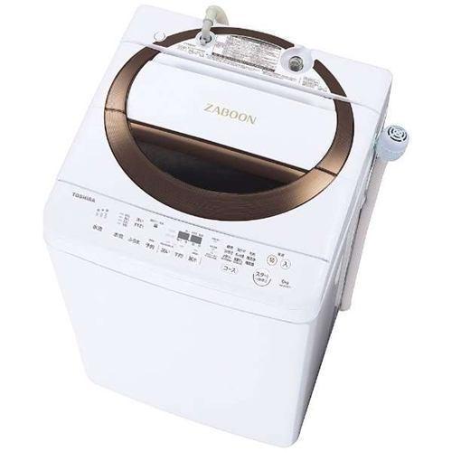【ポイント10倍!5月25日(土)0:00〜5月28日(火)9:59まで】【無料長期保証】東芝 AW-6D6(T) 全自動洗濯機 (洗濯6.0kg) ブラウン