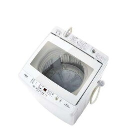 【ポイント10倍!6月18日(火)9:59まで】AQUA AQW-GV80G(W) 全自動洗濯機 (洗濯8.0kg) ホワイト