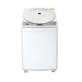 【無料長期保証】シャープ ES-TX8C-W 縦型洗濯乾燥機 (洗濯8.0kg/乾燥4.5kg) ホワイト