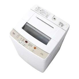 AQUA AQW-S60G(W) 全自動洗濯機 (洗濯6.0kg) ホワイト