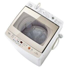 【ポイント10倍!】【無料長期保証】AQUA AQW-GV70G-W 全自動洗濯機 (洗濯7.0kg) ホワイト