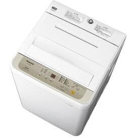 【ポイント2倍!9月20日(金)00:00〜23:59まで】パナソニック NA-F50B12-N 全自動洗濯機 5kg シャンパン