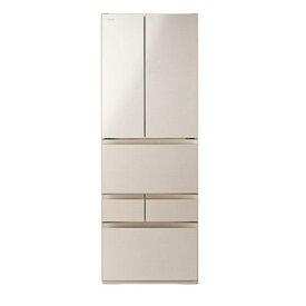 【無料長期保証】東芝 GR-R510FH(EC) VEGETA 6ドア冷蔵庫 (509L・フレンチドア) サテンゴールド
