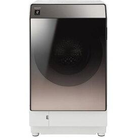 【無料長期保証】シャープ ES-U111-TL ドラム式洗濯乾燥機 洗濯11.0kg/乾燥6.0kg ブラウン系 左開き