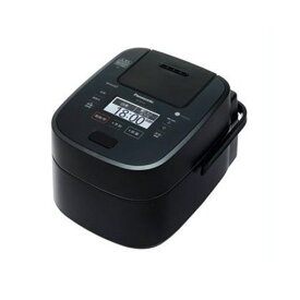【無料長期保証】パナソニック SR-VSX109-K スチーム&可変圧力IHジャー炊飯器 5.5合炊き ブラック
