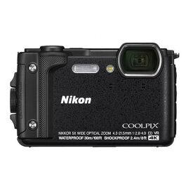 【ポイント10倍!】Nikon W300BK デジタルカメラ COOLPIX ブラック