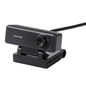 【ポイント10倍!4月1日(水)00:00〜23:59まで】エレコム UCAM-C310FBBK ワイド画面HD対応100万画素Webカメラ