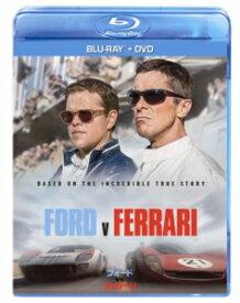 【BLU-R】フォードvsフェラーリ ブルーレイ+DVDセット