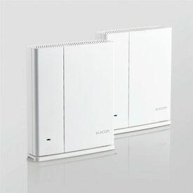 エレコム WMC-DLGST2-W Wi-Fi 5(11ac) 867+400Mbps e-Meshスターターキット