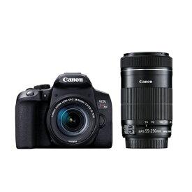 キヤノン EOSKISSX10I WKIT デジタル一眼レフカメラ EOS Kiss X10iブラック(W)・ダブルズームキット