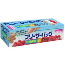 日本サニパック スマートキッチン フリーザーバッグ 小 25枚 透明