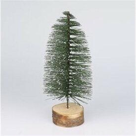 ミニツリー 幅9×高さ24cm スノーグリーンS