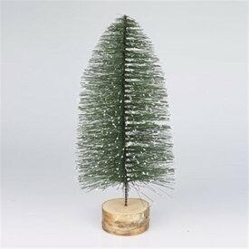 ミニツリー 幅12×高さ30cm スノーグリーンL